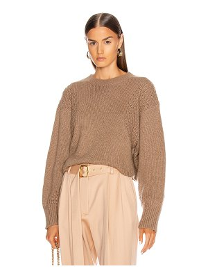 LOULOU STUDIO huahine oversized pullover