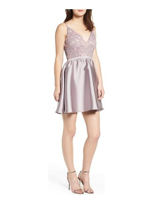 Love, Nickie Lew lace & taffeta party dress