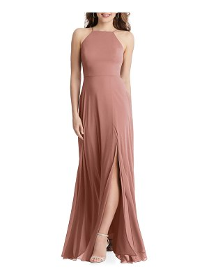 LOVELY lela sleeveless chiffon gown