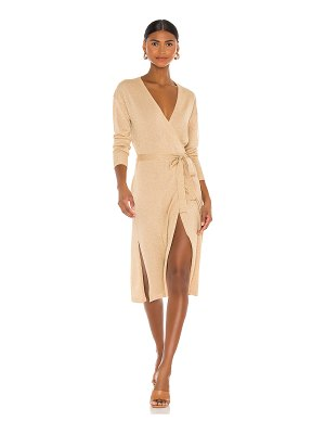 Lovers + Friends azita wrap dress