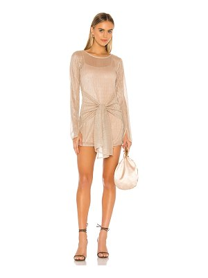 Lovers + Friends barker mini dress