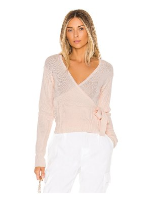 Lovers + Friends delma wrap sweater