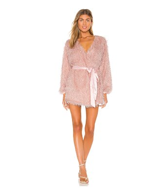 Lovers + Friends fifth avenue mini dress