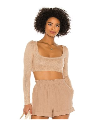 Lovers + Friends hailee crop sweater