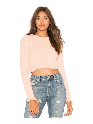 Lovers + Friends Irene Crop Sweater