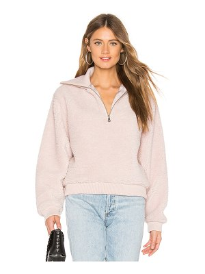Lovers + Friends jamey zip pullover