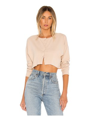 Lovers + Friends keaton cropped sweater. - size m (also