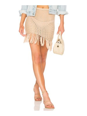 Lovers + Friends Lou Crochet Skirt