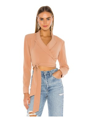 Lovers + Friends luiza wrap blazer
