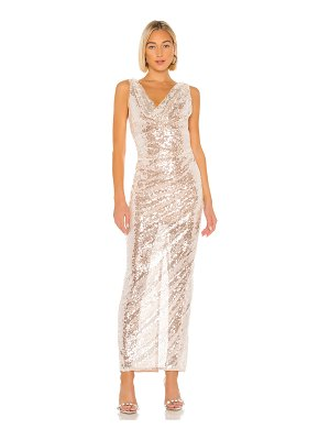 Lovers + Friends nava sequin gown