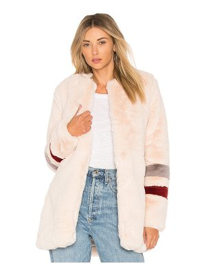 Lovers + Friends Oakley Fax Fur Coat