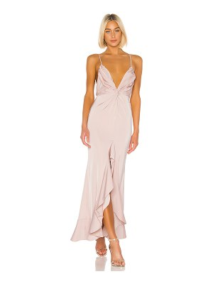 Lovers + Friends patricia gown