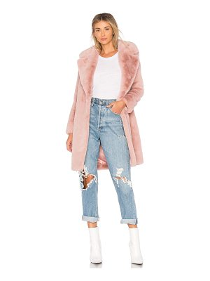Lovers + Friends Romy Faux Fur Coat