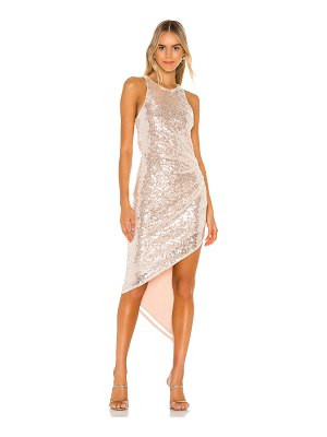 Lovers + Friends rosalee sequin gown