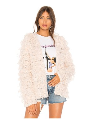 Lovers + Friends shaggy sweater
