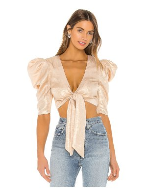 Lovers + Friends solane top