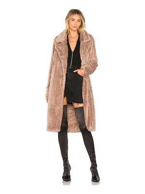 LOVERS + FRIENDS Teddy Fur Coat