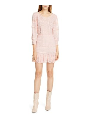 LoveShackFancy cheri eyelet lace dress