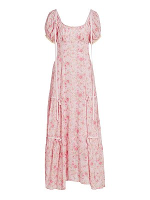 LoveShackFancy jessie floral maxi dress