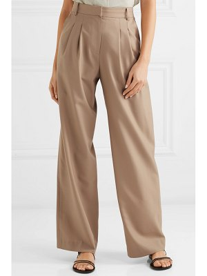 LOW CLASSIC wool wide-leg pants