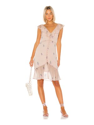 LPA ciro embroidered dress