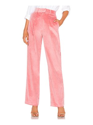 LPA corduroy high waist trouser