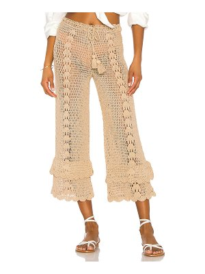 LPA crochet high waist culotte