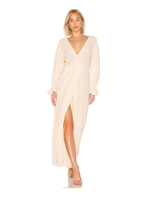 LPA Laria Wrap Dress