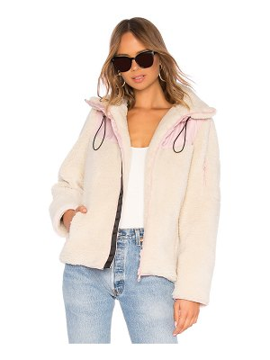 LPA sherpa fleece jacket