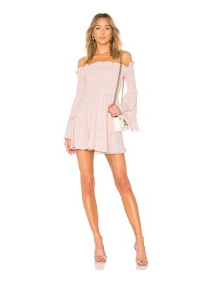 LPA smocked mini dress