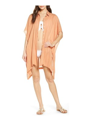 L*SPACE anita cover-up shirtdress