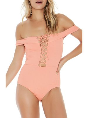 L*SPACE anja one-piece swimsuit