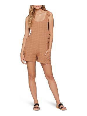 L*SPACE carina cover-up romper