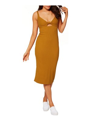 L*SPACE kaia sleeveless open back dress