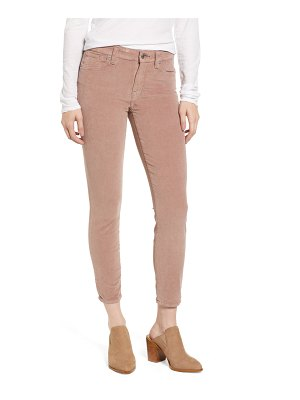 Lucky Brand ava skinny ankle corduroy pants