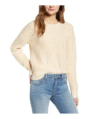 Lucky Brand marled crewneck sweater