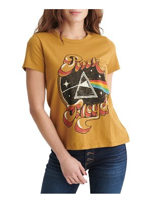 Lucky Brand pink floyd graphic tee