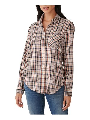 Lucky Brand plaid classic cotton button up shirt