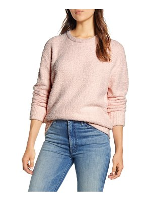 Lucky Brand teddy crewneck sweater