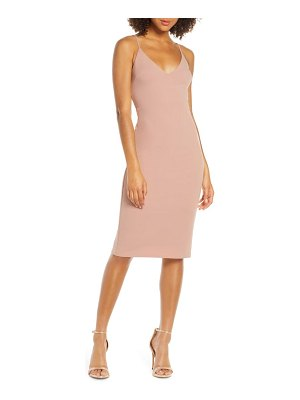 Lulus infinite glory body-con dress