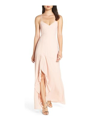 Lulus luxurious love lace-up back gown