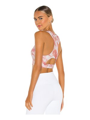 L'URV pink rock twist crop
