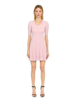 M Missoni Cotton knit jacquard dress