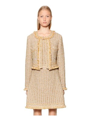 M Missoni Cropped lurex & wool blend boucle jacket