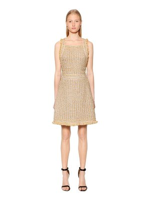 M Missoni Lurex & wool blend boucle knit dress