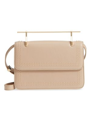 M2MALLETIER La Fleur Du Mal Studded Leather Shoulder Bag