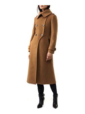 Mackage elodie-r double breasted wool blend coat