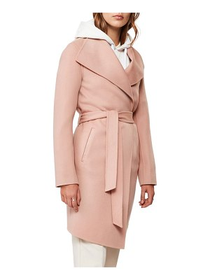 Mackage Laila Handmade Wool Wrap Coat