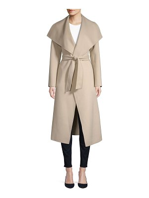 Mackage mai asymmetrical wool coat