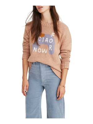 Madewell bisous ciao pullover